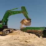 Excavator and ADT 2