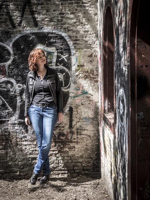 Hanneke, Amsterdam 2017: Graffiti babe