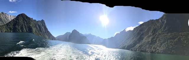 Pano of Milford Sound