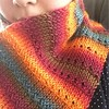 Sunset Tunisian Crochet Knit-alike Scarf