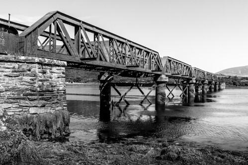 ireland irlanda ring anillo kerry kahersiveen puente bridge hierro iron castlequin
