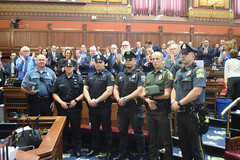 Police Officers from around the state during National Peace Officers Week. 5.16.17