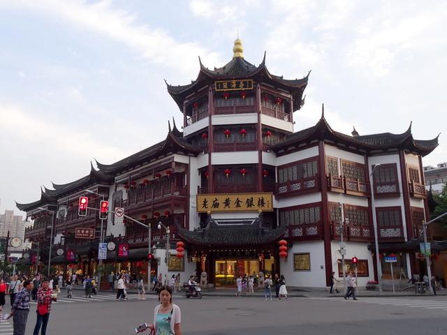 Nanshi, la vieille ville à Shanghai