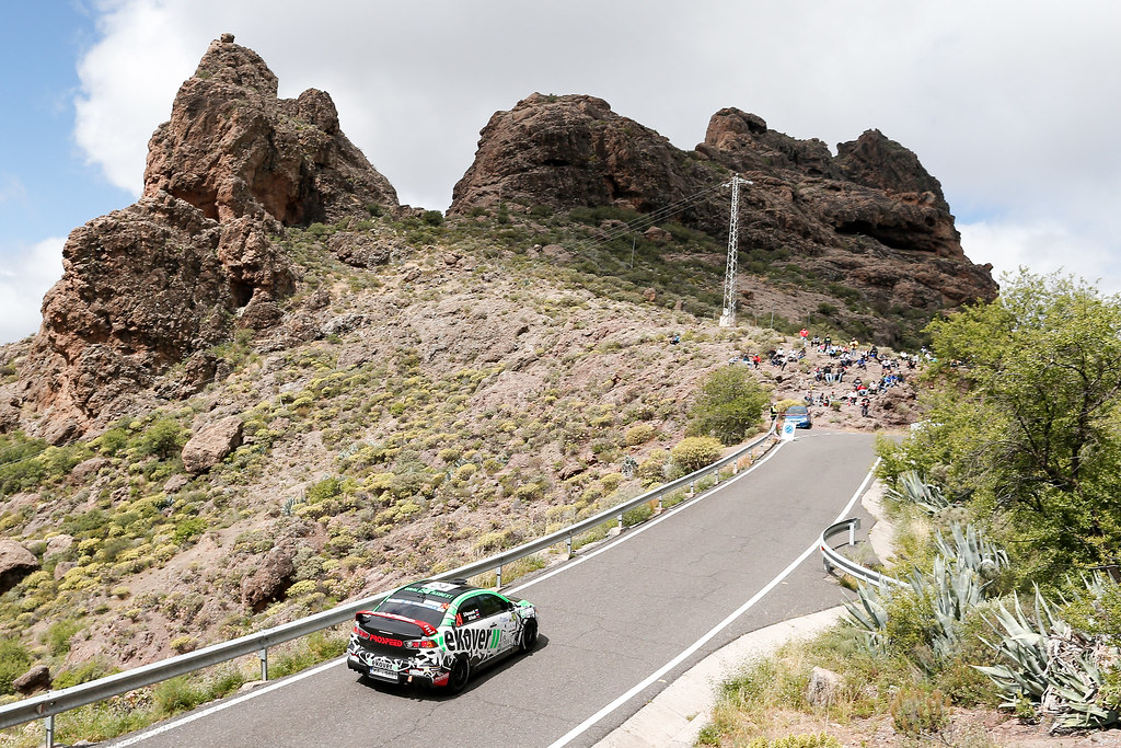 24 REMENNIK Sergei(RUS), ROZIN Mark (RUS), Mitsubishi lancer EVO X , Action during the 2017 European Rally Championship ERC Rally Islas Canarias, El Corte Inglés,  from May 4 to 6, at Las Palmas, Spain - Photo Alexandre Guillaumot / DPPI