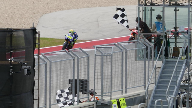 Saturday MotoGP QP2 - Rossi puts it on front row