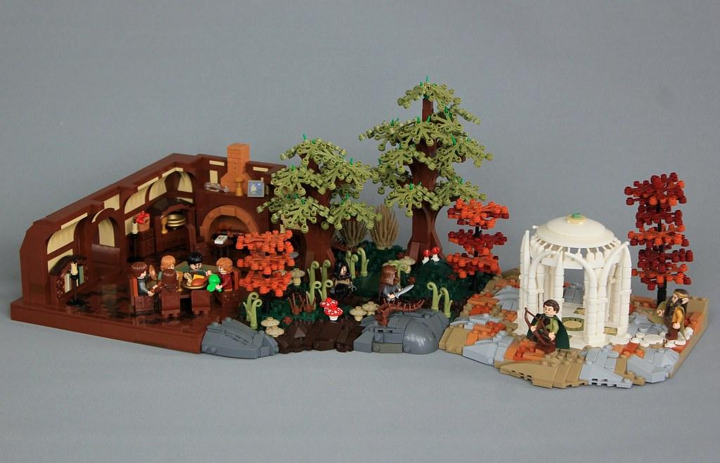 MELO R1: Farewell We Call to Hearth and Hall! (custom built Lego model)
