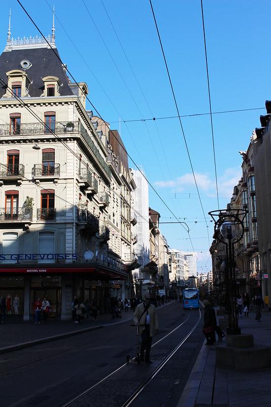 Tramway Genève
