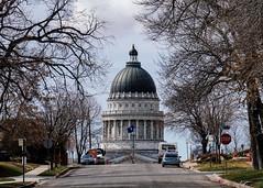 Capitol Building Bursting from the Horizon