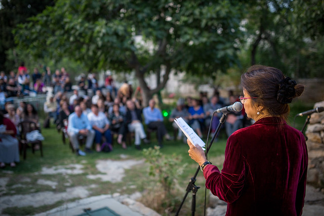 Palfest 2017 evening event in Ramallah