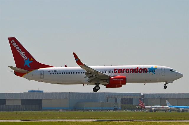 Corendon Dutch Airlines PH-CDH Boeing 737-86J Winglets cn/36121-3855 @ Buitenveldertbaan EHAM / AMS 09-06-2016