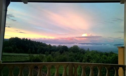 #natura #lucedellasera #tramonto #casa