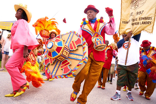 Dumaine St. Gang Parade. Saturday, April 29, 2017 - Jazz Fest Day 2. Photo by Eli Mergel.