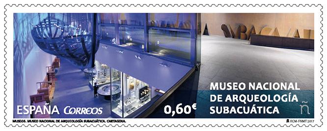 Correos dedica un sello al ARQVA de Cartagena