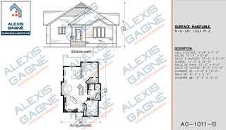 Plan de maison 1 étage - MM1e.06