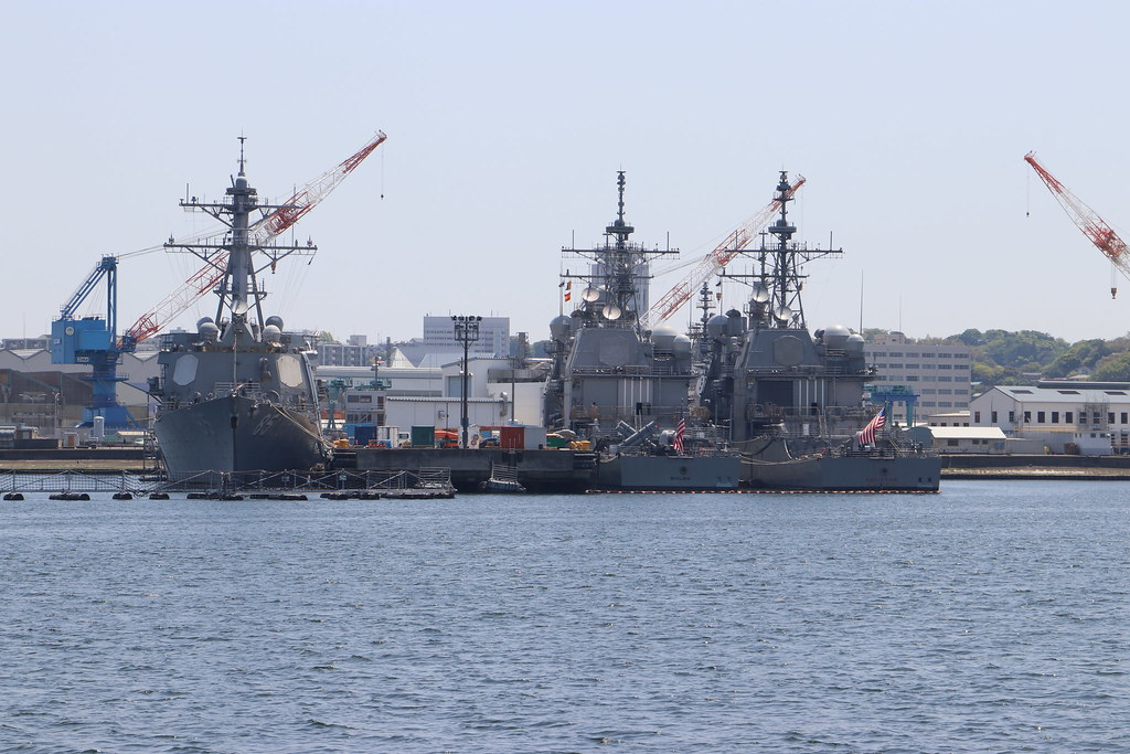 DDG-85 USS McCampbell ,  CG-67 USS Shiloh , CG-54 USS Antietam