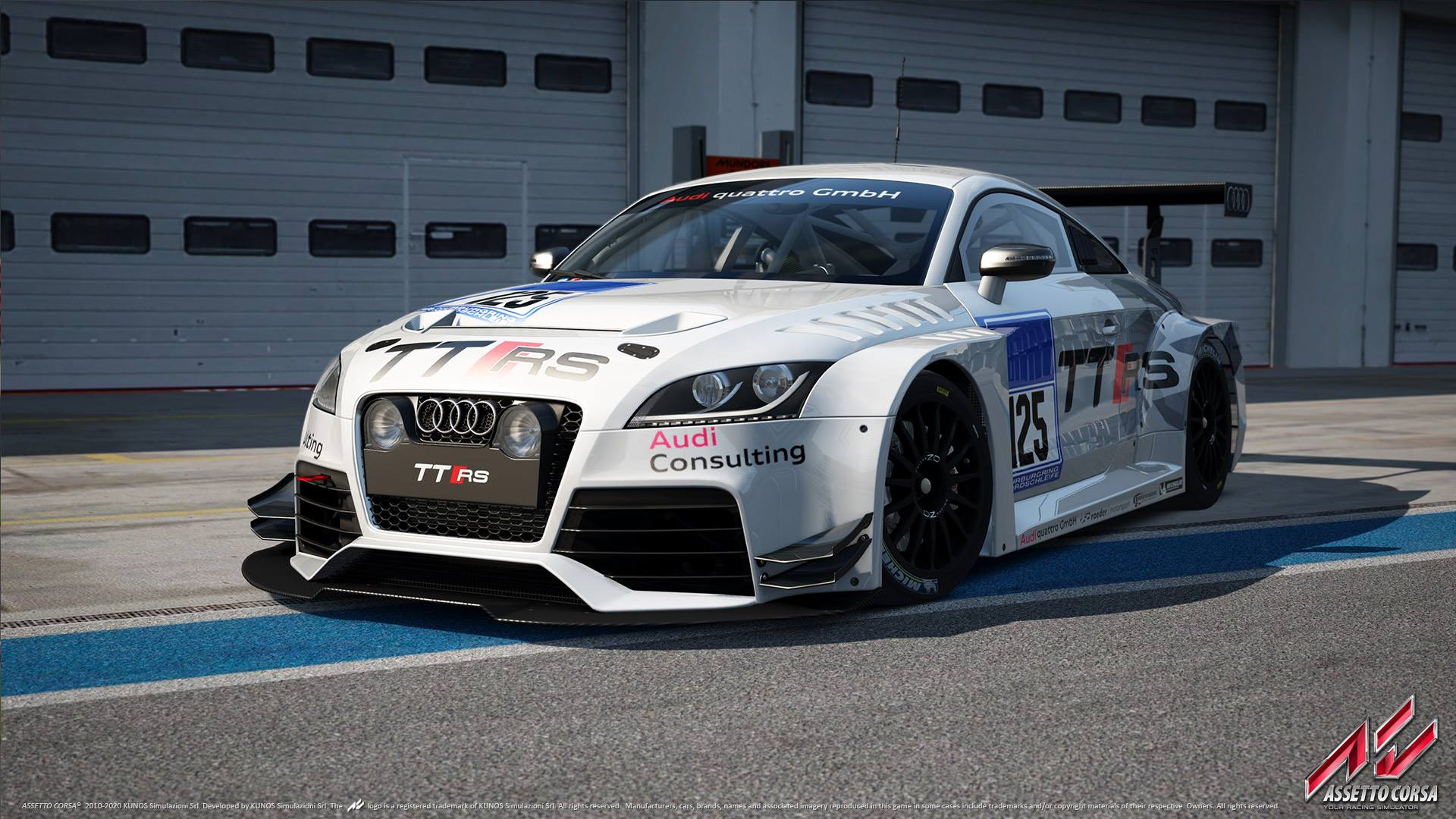 Audi Tt Rs Race Car For Sale