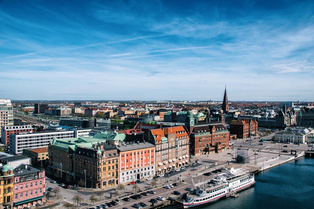 Panorama sur Malmo en Suède - Photo de Maria Eklind