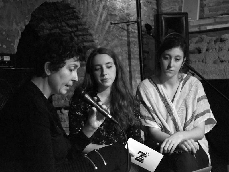 María Torres Solanot, Ana Baquerizo y Paz Pérez en la Bóveda