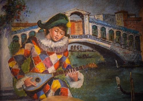Harlequin Painting, Venice