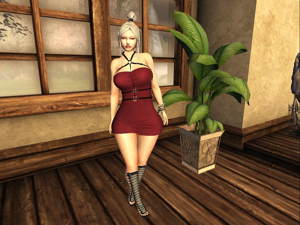 .: Lekilicious Store:. Dress  Clara :. - L  & M Store - SecondLifeHub.com