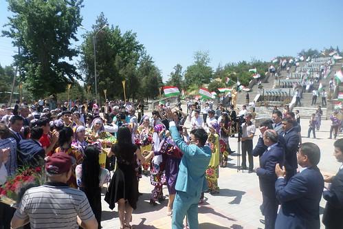 Сафари меҳмонон аз Ӯзбекистон ба шаҳри Қӯрғонтеппа