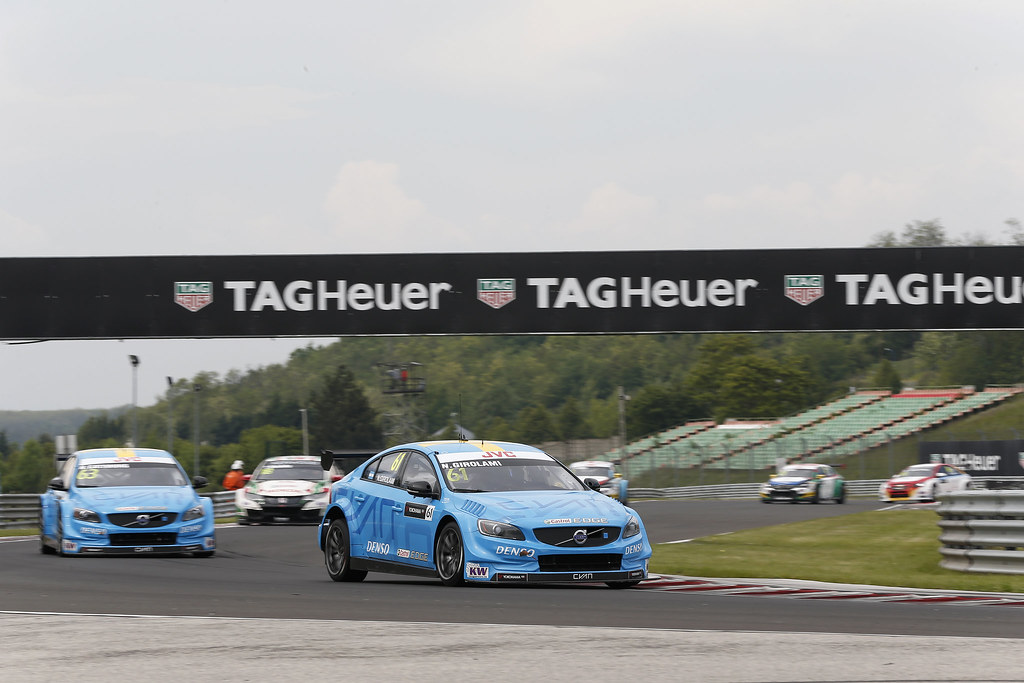 61 GIROLAMI Nestor (arg), Volvo S60 Polestar team Polestar Cyan Racing, action during the 2017 FIA WTCC World Touring Car Race of Hungary at hungaroring, Budapest from may 12 to 14 - Photo Jean Michel Le Meur / DPPI