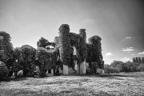 moydrum castle ruins westmeath ireland war independence ira unforgettable fire