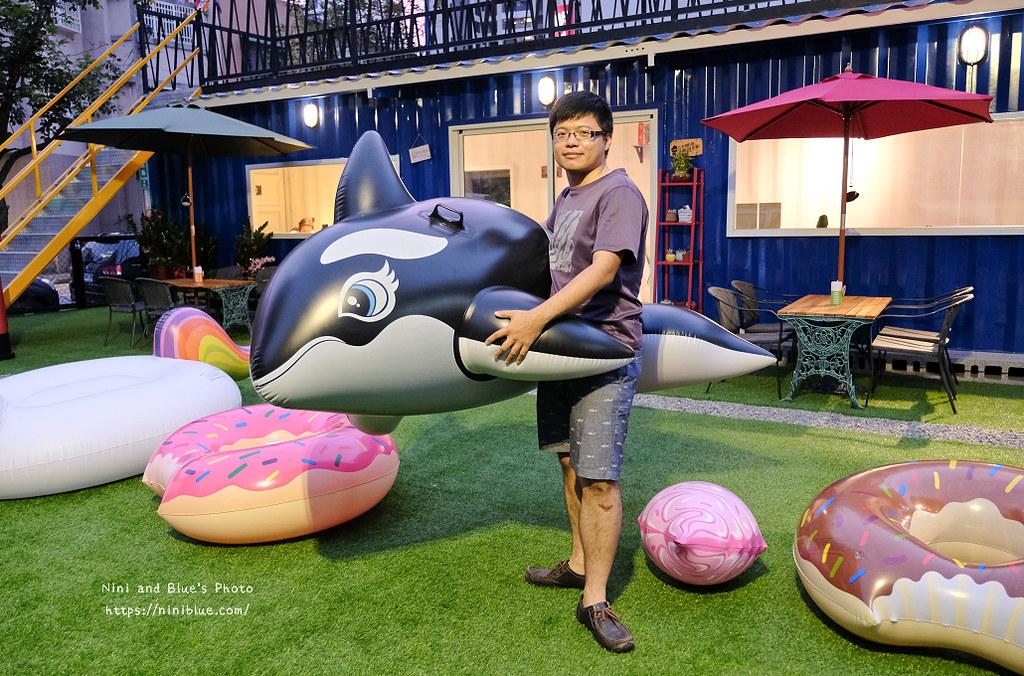 逢甲迷路MiLu菜單氣球泳圈親子餐廳11