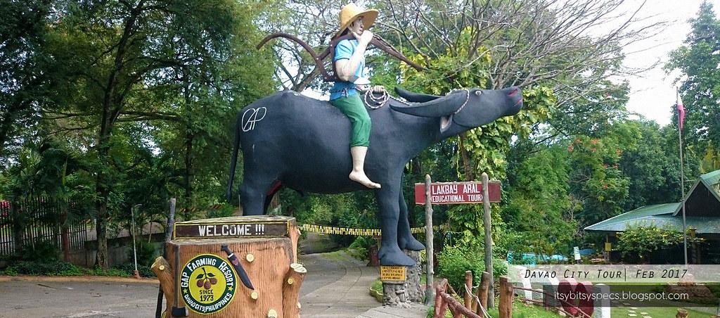 GAP Farming Resort - Giant Peeing Carabao