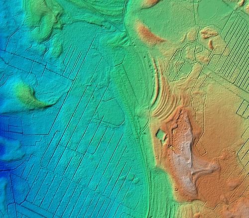 finland kannus kivineva mutkalampi asumuspainanne kivikausi stoneage archaeology archaology lidar laserkeilaus airbornelaserscanning topography dem dtm 1pix2m nls
