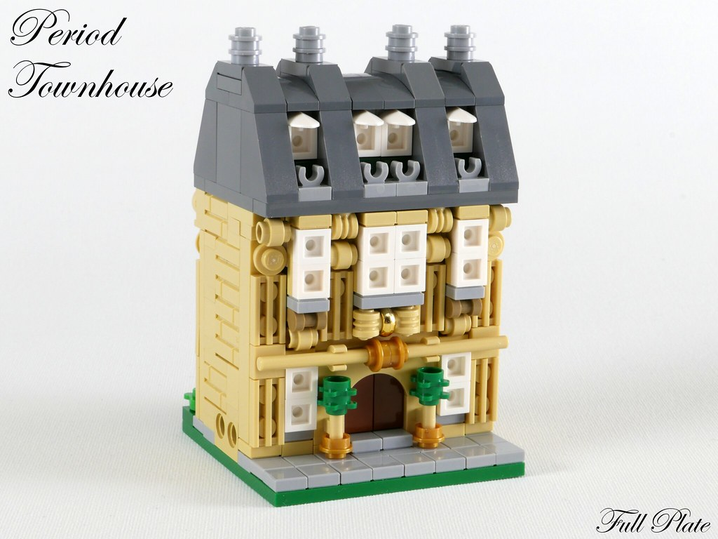 Period Townhouse (custom built Lego model)