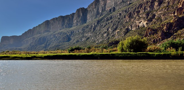 From the Shores of the Rio Grande and the Sierra Ponce Cliffs (Big Bend National Park)