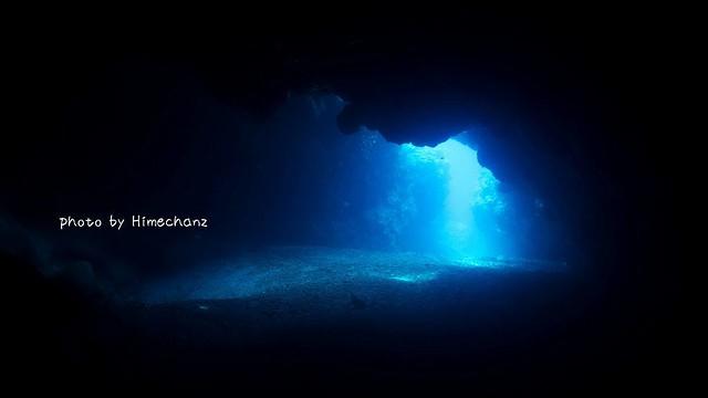 朝一だったけど、たっぷり洞窟楽しめました♪