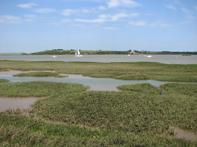 The Swale between Faversham and Conyer