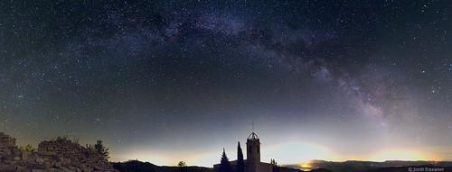 Pano Via Làctia Esglesia Castelltallat