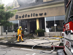 LAFD Confines Fire to Studio City Furniture Store
