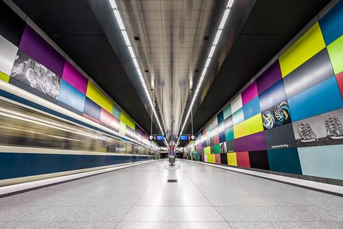 Georg-Brauchle-Ring U-Bahn München from Toni Hoffmann