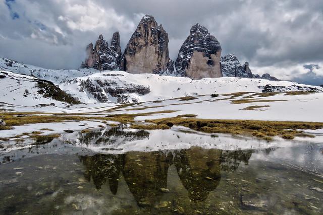 Le Tre Cime di Lavaredo - Trrentino-Alto Adige - Italia [Explored #272 - backdated]
