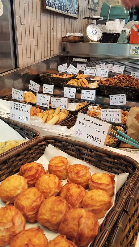 Food at Nishiki market