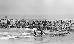 Seal Beach Surfing Couple