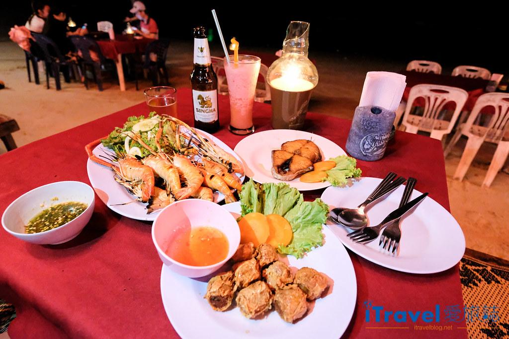 《沙美島美食推薦》海灘餐廳Sea Breeze@Samed共享燭光晚餐,大啖碳烤海鮮料理。