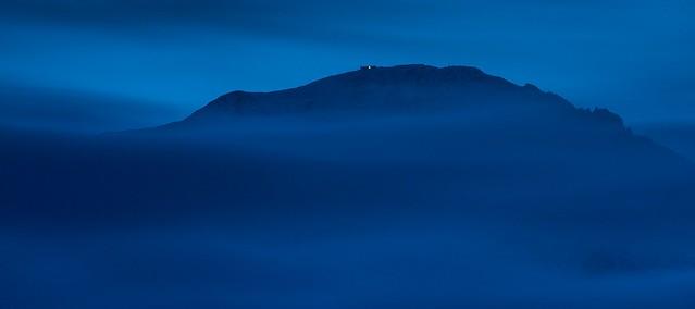 Twilight on the Mountain, Nikon D600, Sigma APO Tele Macro 400mm F5.6