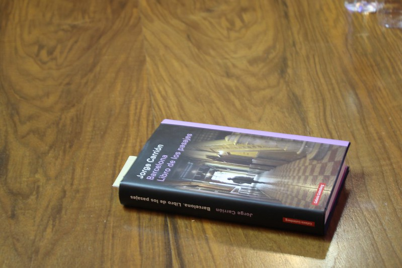 Presentación Barcelona libro de los pasajes