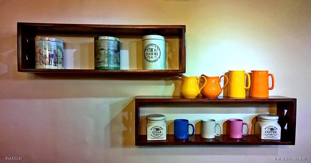 ...The bracketed existence....  ... #wallart #chandigarh #cafe #willow #roadtrip #cups #decor #visualart #artwall #wallartofphotography #arrangements #coffee #instagram #decordailydose #colourful #lifestyle #jars #bright #tea #chat #photographers.of.india