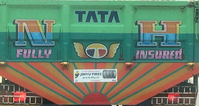 Traditional Sri Lankan Truck Art
