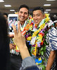 "Excited family and friends of engineering graduates eagerly capture the moment at the college's annual spring convocation at the Neal S. Blaisdell Arena on May 12, 2017.  View more photos at the college's Flickr site: <a href=""https://flic.kr/s/aHskZGyTa5"" rel=""noreferrer nofollow"">flic.kr/s/aHskZGyTa5</a>"