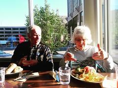 #myparents #sueharrynferguson #alanscottferguson #love #eating #vegan #iwishmyparentswerevegan #stepbystep #nativefoods #lunch #glendalecolorado