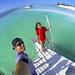En catamarán por las playas de Cuba