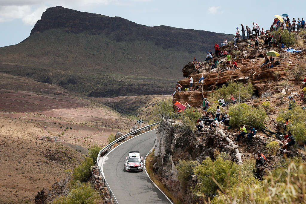 during the 2017 European Rally Championship ERC Rally Islas Canarias, El Corte Inglés,  from May 4 to 6, at Las Palmas, Spain - Photo Alexandre Guillaumot / DPPI