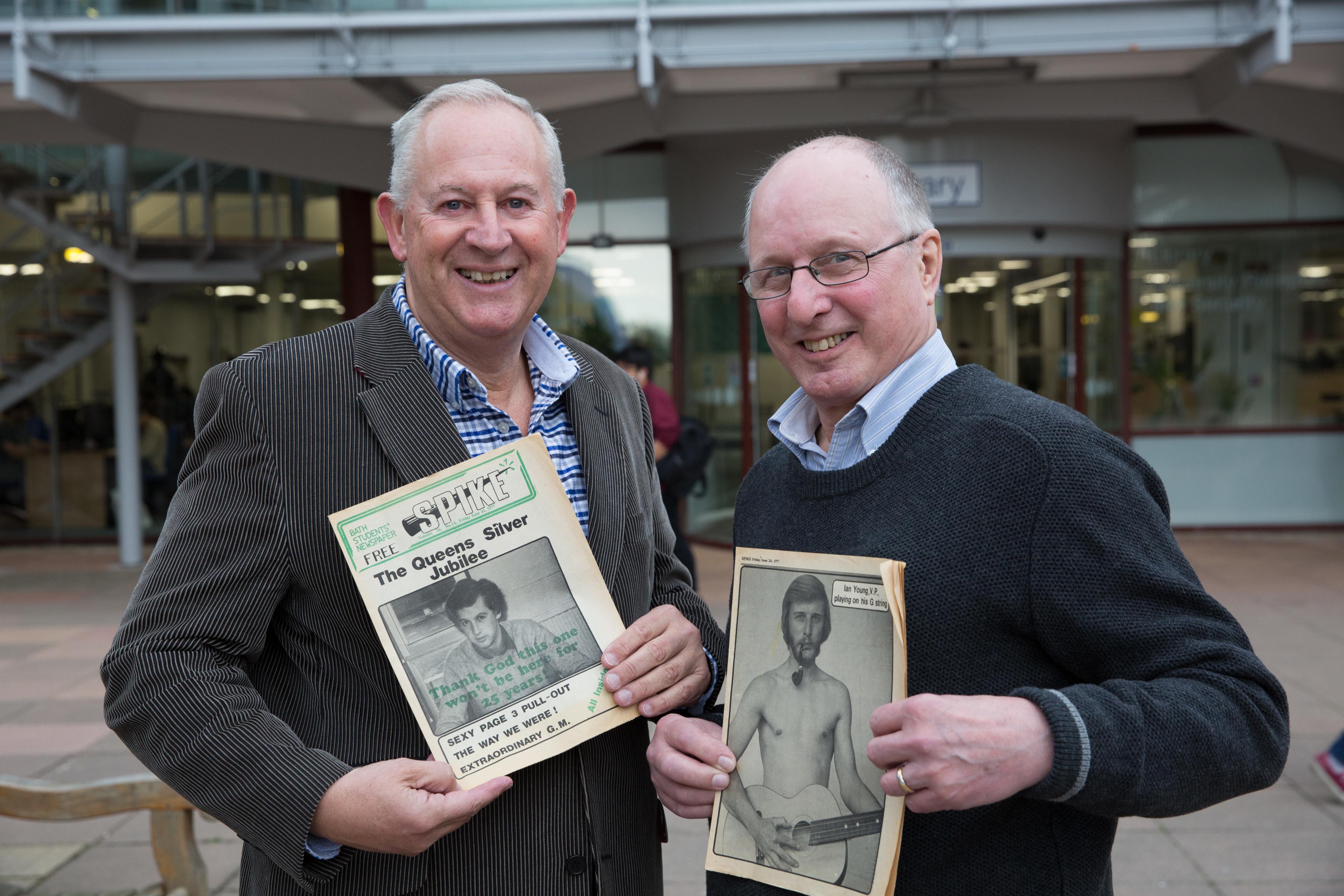Stuart Appleton and Ian Young
